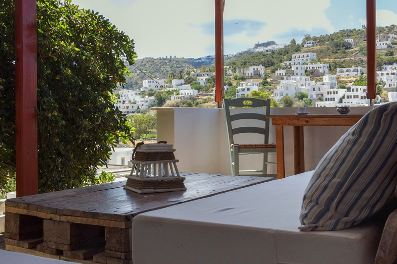 Beach front hotel patmos
